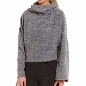 Free People Movement Cropped Cowl Neck Hoodie